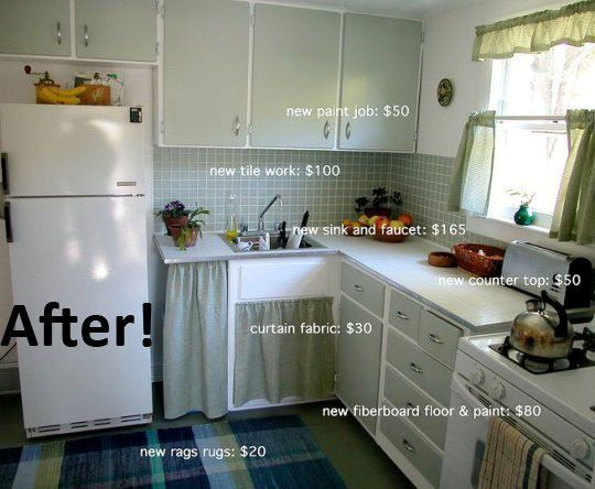 10+ Images About Yellow 1950u0027s Kitchen Update Ideas On Pinterest |  Countertops, Budget Kitchen Remodel And Cabinets