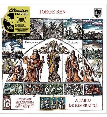 LP JORGE BEN - A TÁBUA DE ESMERALDA (180 GRAMAS)