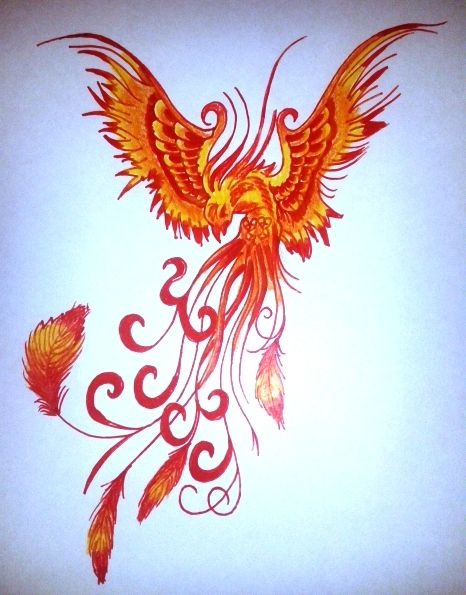 Ave Fenix Arts Pinterest Phoenix Tattoo Feminine Phoenix