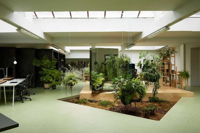 Aménager un jardin intérieur: 105 idées de design original | Home ...