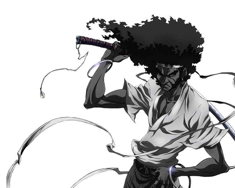 Afro Samurai Resurrection 2009 Is A Japanese American Anime Television Film Sequel To The 2007 Miniseries Afro Samurai You Afro Samurai Anime Films Samurai