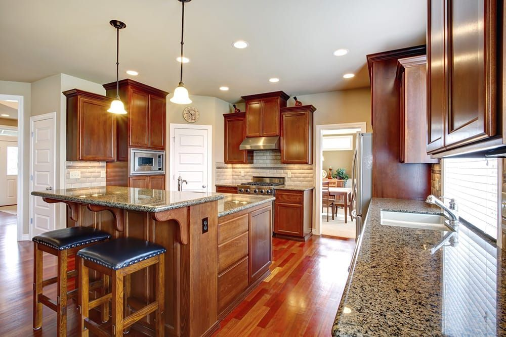 Found on Bing from graniteselection.com in 2020 | Granite ... on Best Granite Color For Maple Cabinets  id=79791