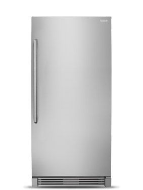 Chambers 24 In 10 Cu Ft Top Freezer Refrigerator In Sky Blue Counter Depth Mrs330 09sb The Home Depot Retro Refrigerator Cabinets To Go Counter Depth