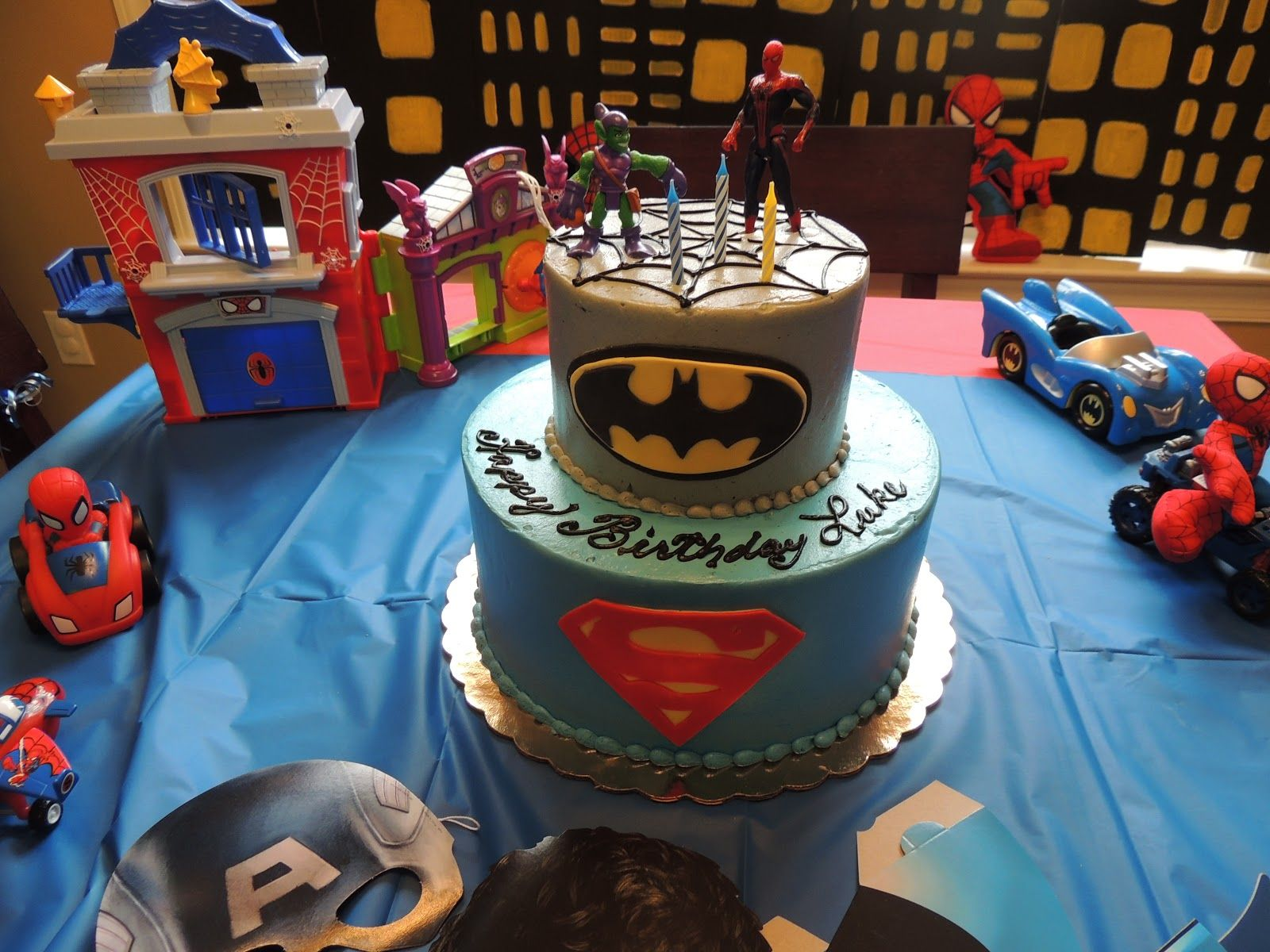 Spiderman Birthday Party Ideas For 4 Year Old Presents