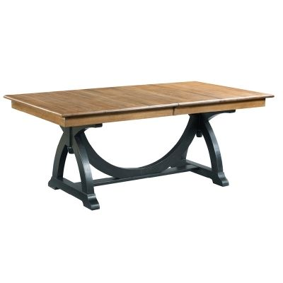 Kincaid 72 056 Stone Ridge Staves Dining Table Available At Hickory Park Furniture Galleries