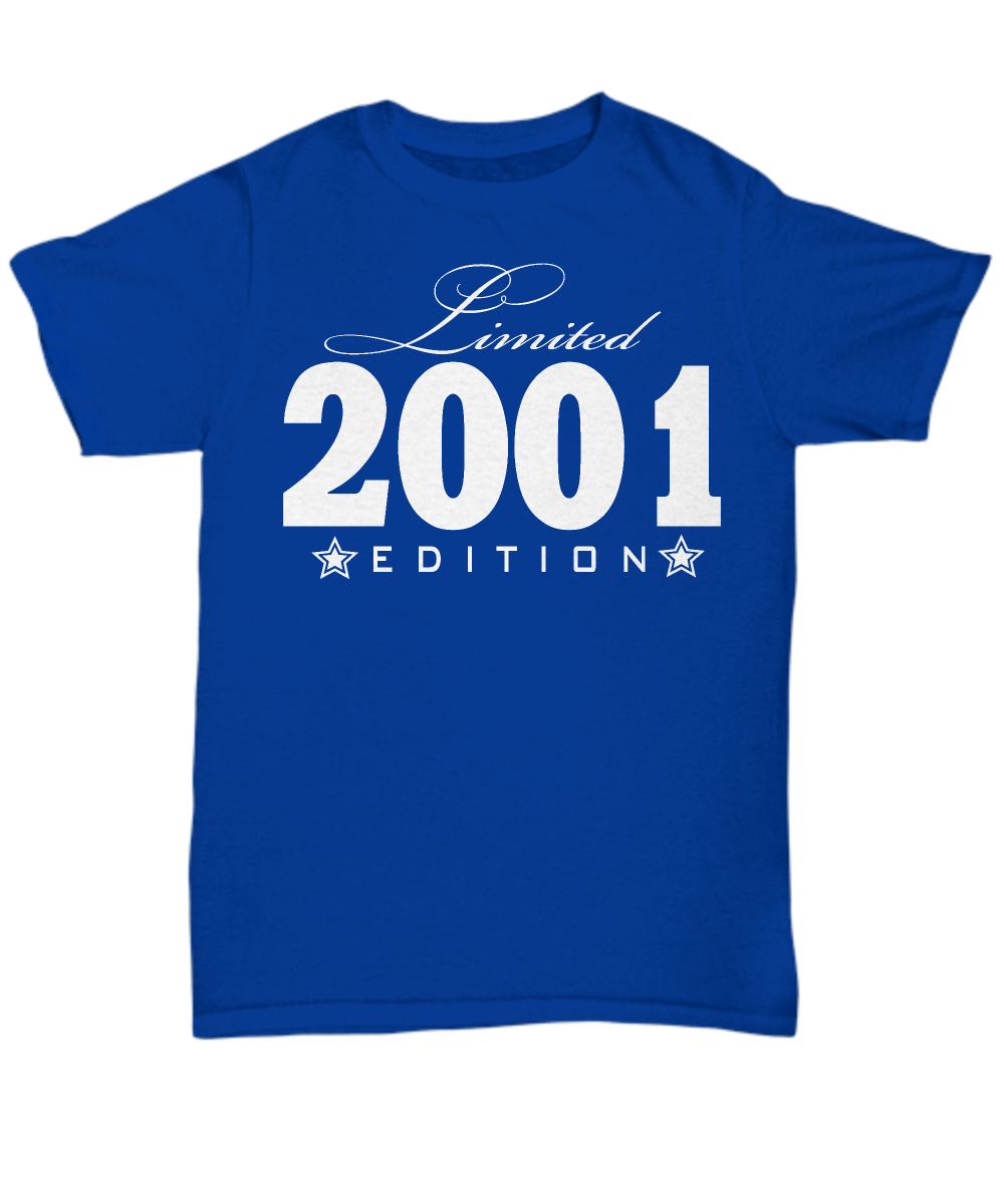 Limited Edition 2001 V2 Birthday Present Shirt JUST RELEASED Time Only This Item Is NOT Available In Stores Guaranteed Safe Checkout PAYPAL