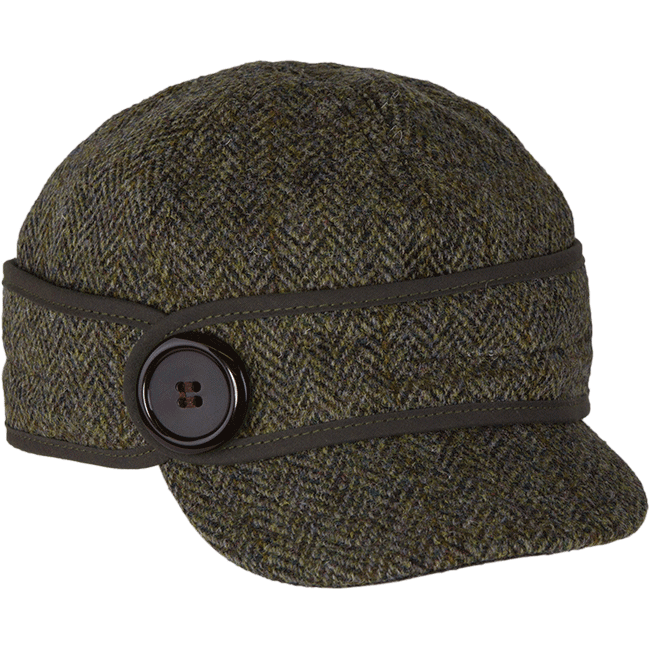6563e6a69d0b8 The Button Up With HARRIS TWEED Stormy Kromer  59.99
