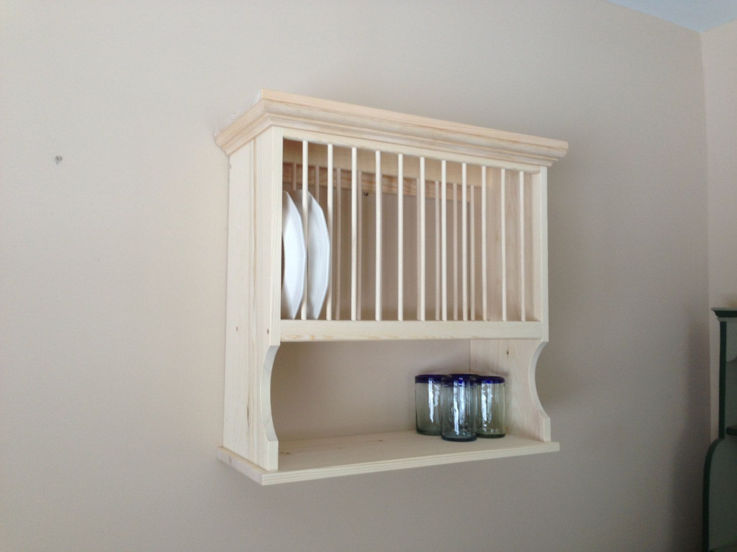 Wall Mounted Plate Rack For extra large by