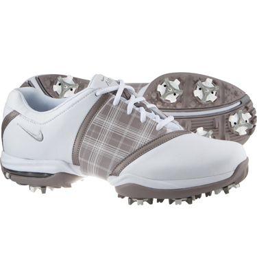 meet 7bf20 d0cb4 Nike Women s Closeout Air Embellish Golf Shoes - White Vapor Mauve Metallic  Silver
