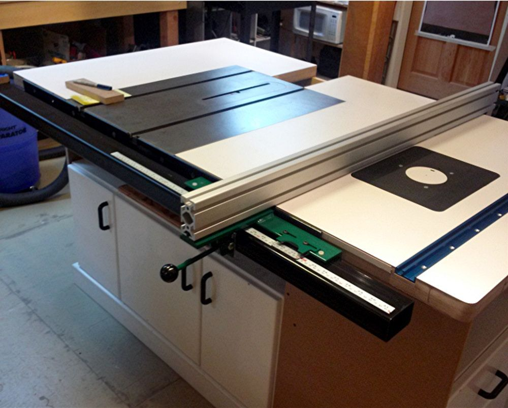 Larry Boyer VerySuperCool Tools Table Saw Fence System