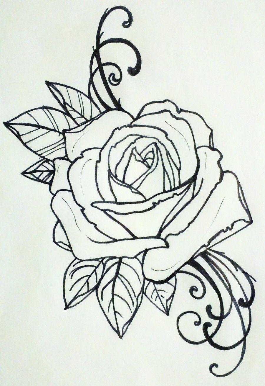 tattoo rose by ~resonanteye on deviantART | tattoo ideas ...