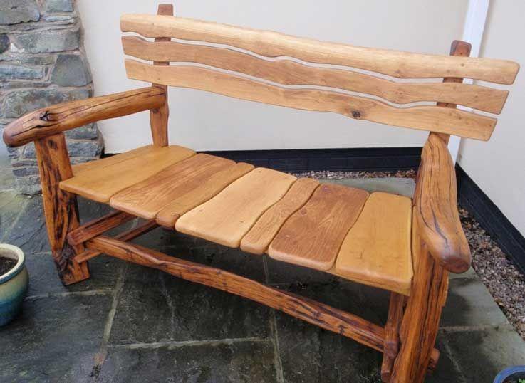 haus au engestaltung holz gartenbank g nstig rustikale gartenm bel selber bauen mit holzbank 2. Black Bedroom Furniture Sets. Home Design Ideas