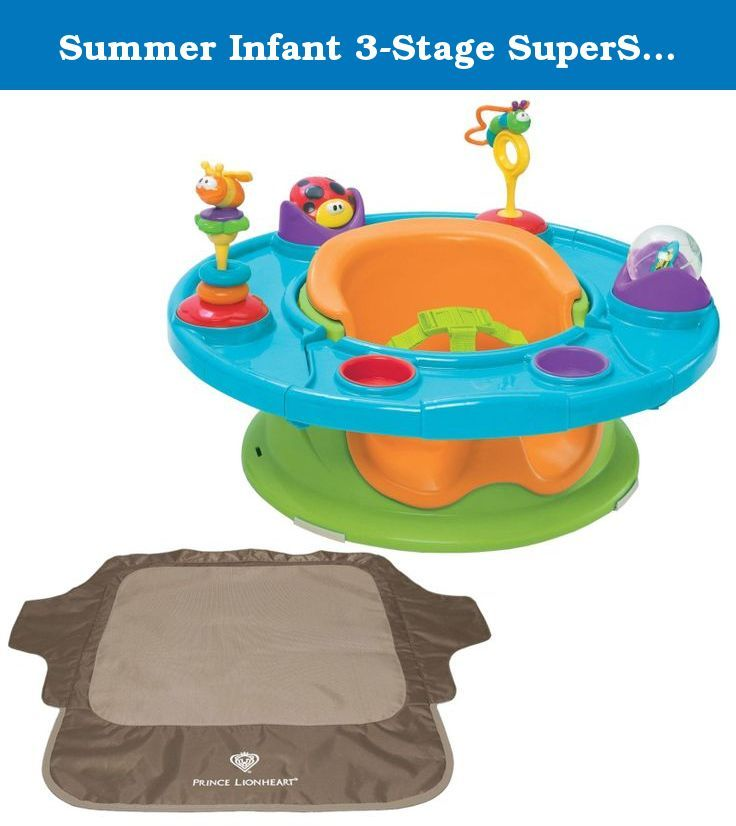 Summer Infant 3 Stage Superseat With Seat Neat Chair Cover