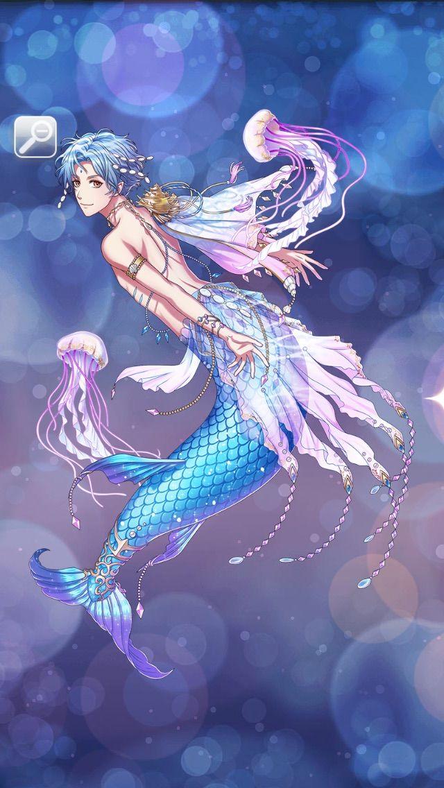 Pin By Mizurumi On 夢100 Anime Mermaid Anime Merman Mermaid Art