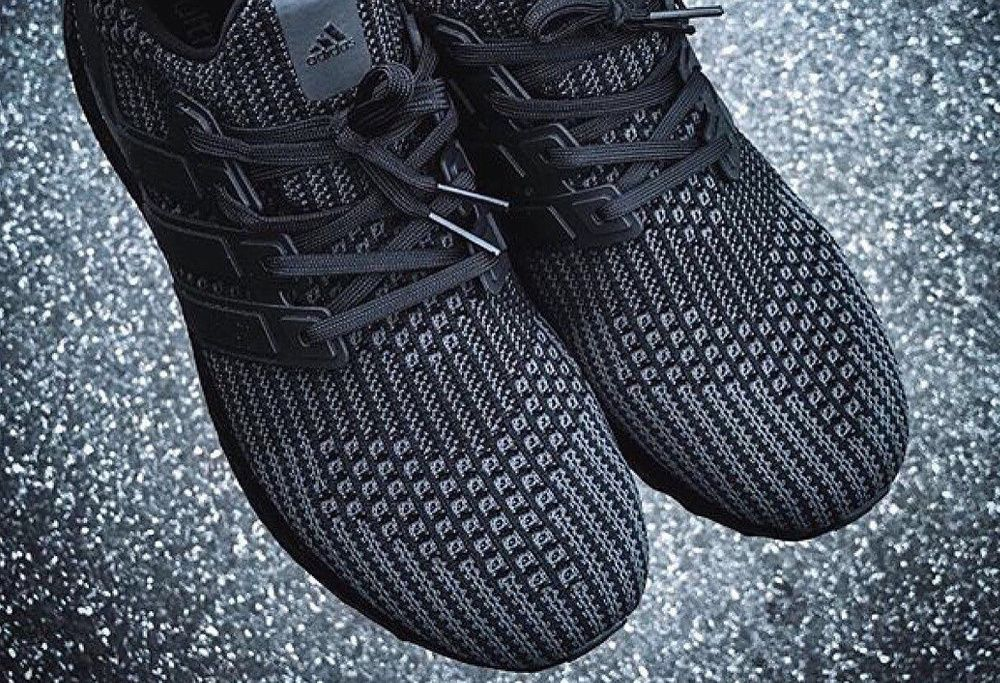 21d40caeac0 Preview the Unreleased  Triple Black  Adidas Ultra Boost 4.0 Here https