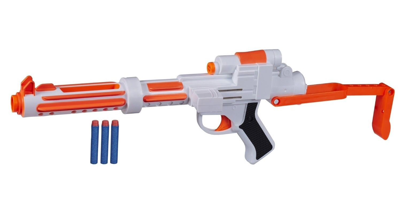 acrylic display stand for Nerf Star Wars Force Awakens Stormtrooper Blaster  pistol.