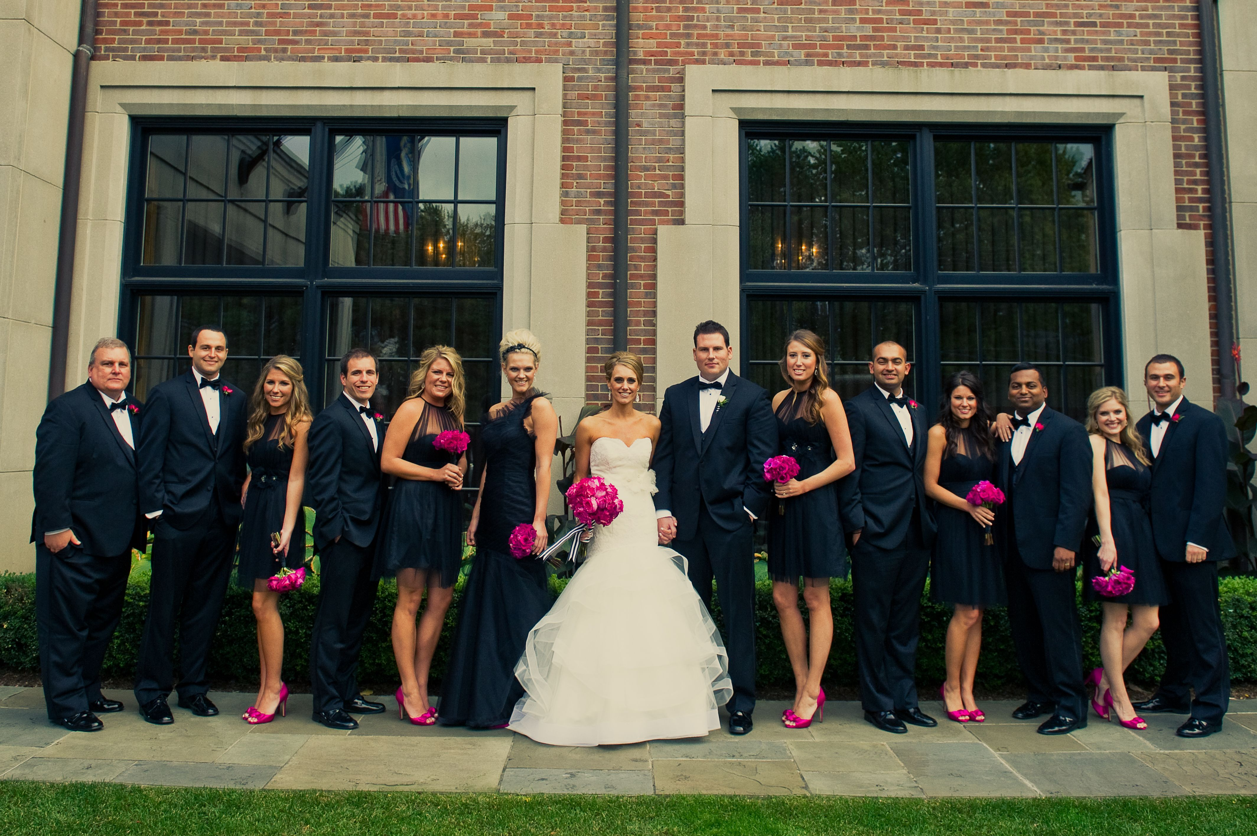 The Wedding Party • Everyone oozes confident NYC sophistication in ...
