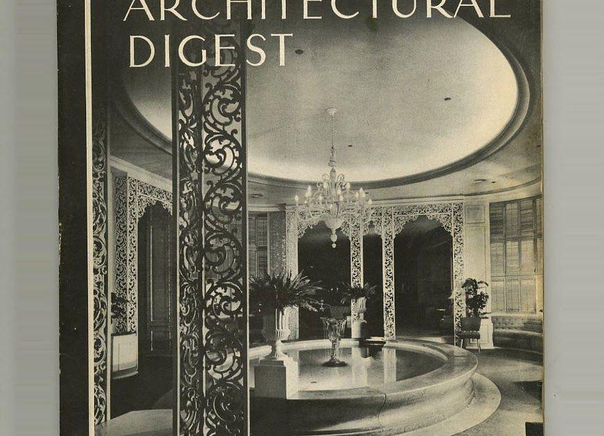 1948 Hollywood Regency Style ARCHITECTURAL DIGEST California BULLOCKs Pasadena
