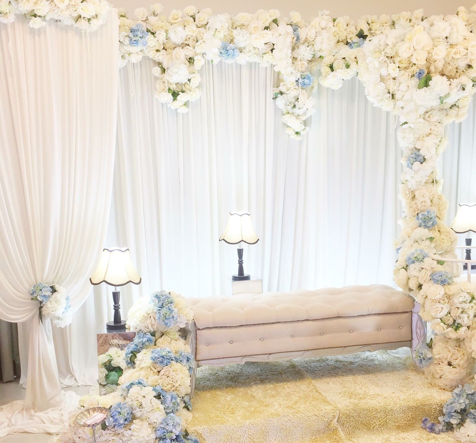 Weddings decoration, Arabian Morroco theme. Pelamin sanding rumah ...