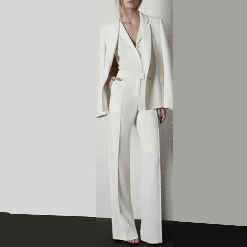 Fashionable Women Suits Women Work Clothes Hand Tailored Women Ladies Custom Made Business Office Tuxedo Work Outfits Women Pantsuits For Women Suits For Women