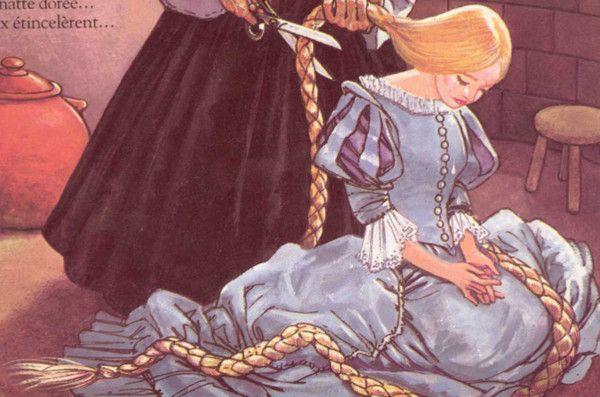 Raiponce illustrations des contes des fr res grimm - Image de raiponce ...