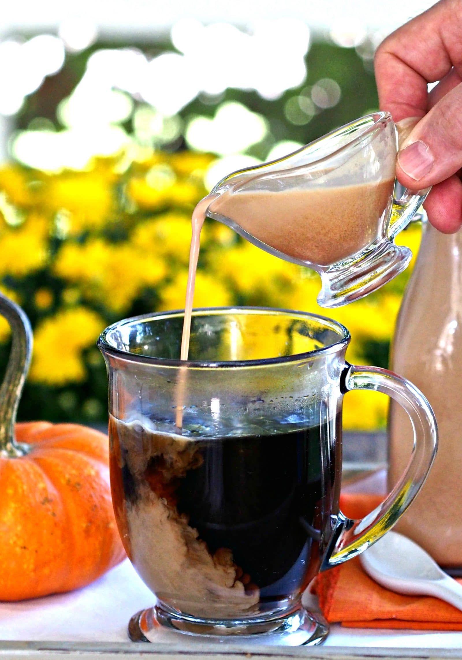 Homemade coffee creamerless expensive healthier