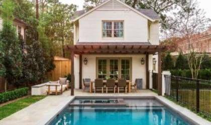 mediterranean style home in texas with clean-lined interior, Hause und garten