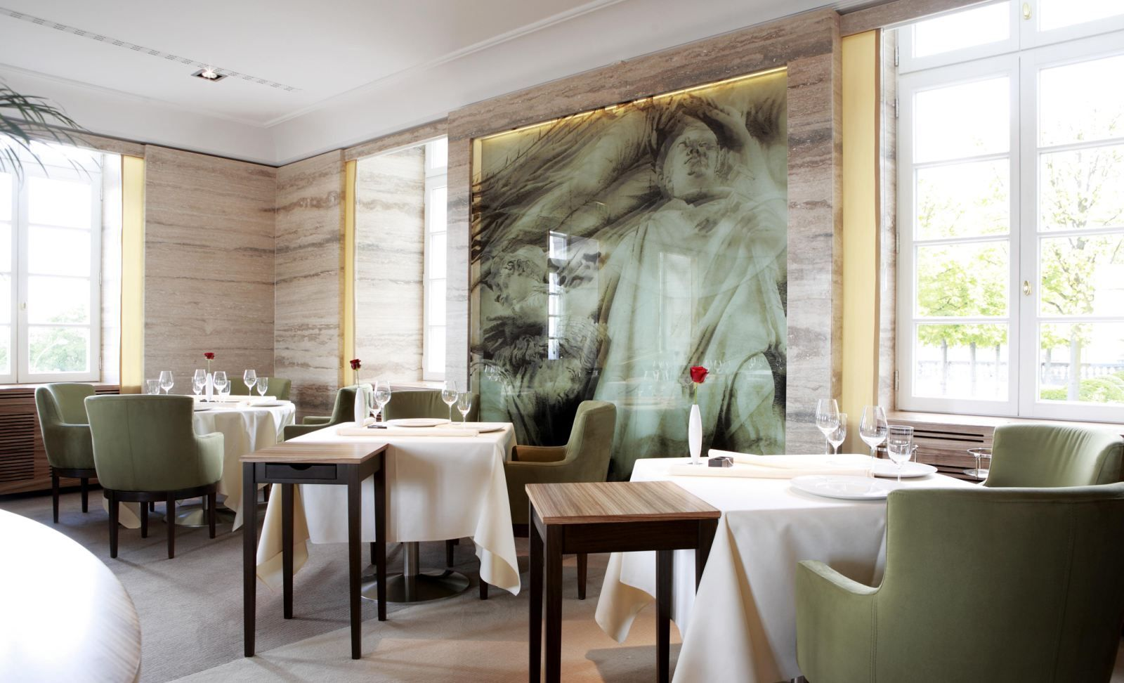 The Vendôme restaurant will truly make you experience the