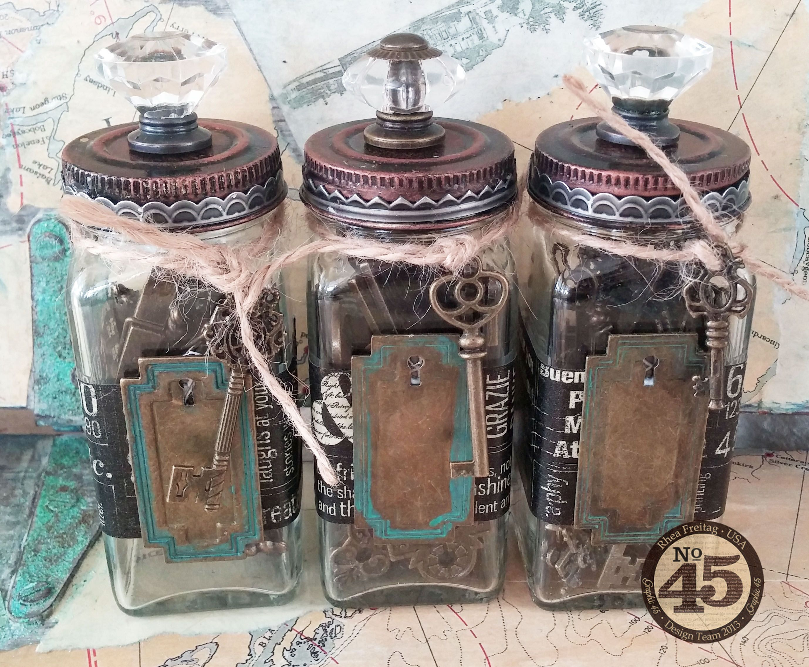 Decorative Spice Jars How To Recycle Spice Jars Into Decorative Storage  Recipe