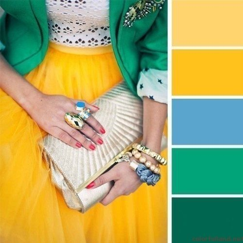 What Colours Can I Combine With Green Color Combinations