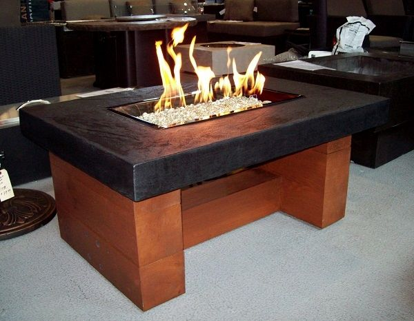 Parts For A Fire Table | Rectangular Firepit