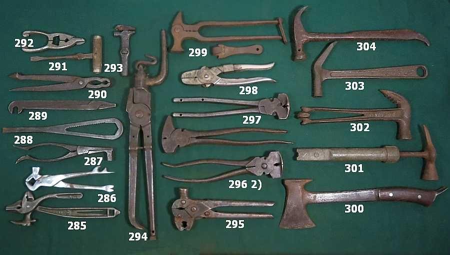 Antique Hand Tools Identification