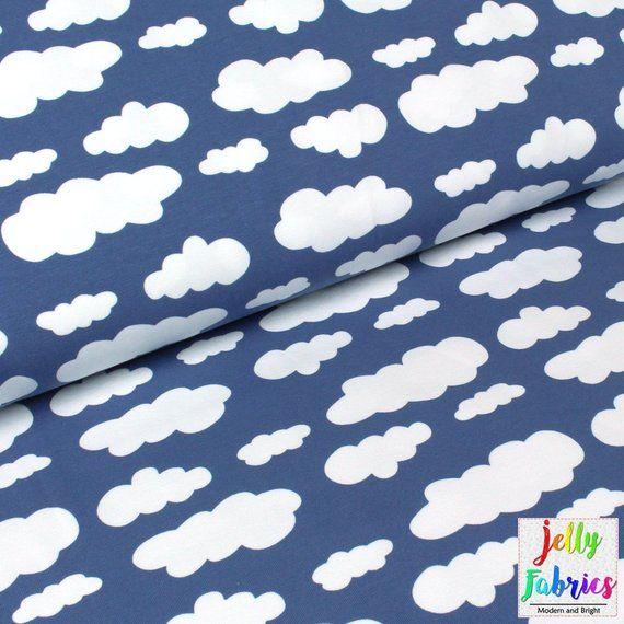 "per half meter Single Jersey print cotton Organic Fabric 63 "" 160 cm wide"