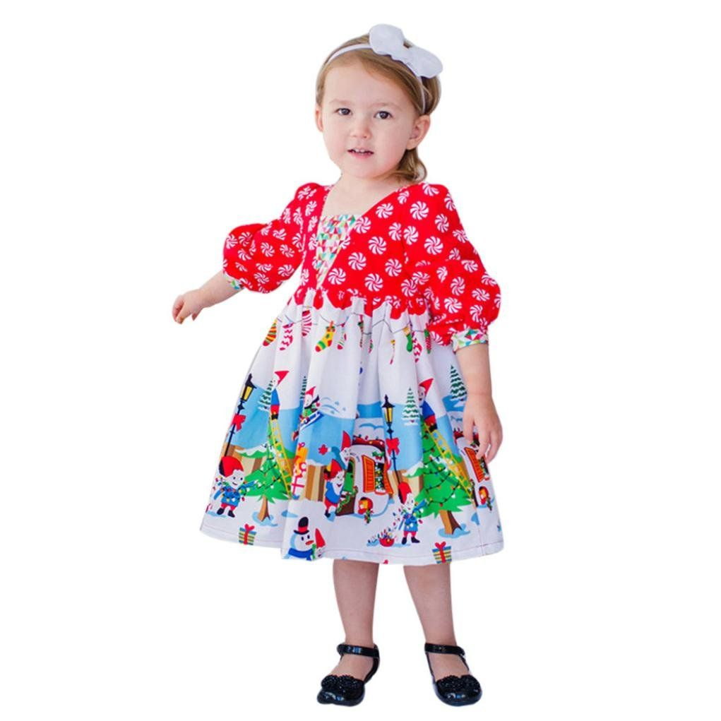 Baby Girl Outfits Clothes Tenworld Toddler Girls Christmas Princess Party Dress 5t Red Christmas Dress For Dresses Kids Girl Baby Girl Dresses Kids Dress [ 1021 x 1021 Pixel ]