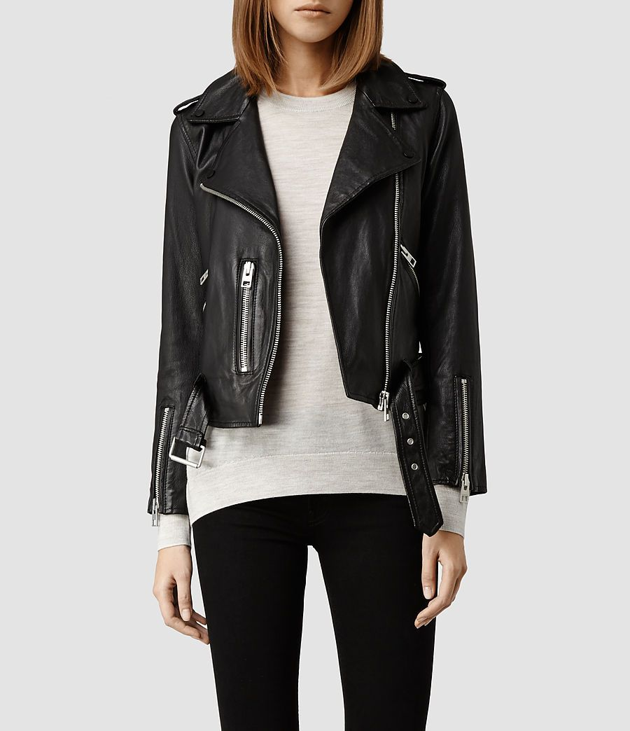 Plait Balfern Suede Biker Jacket | More Leather biker jackets ideas