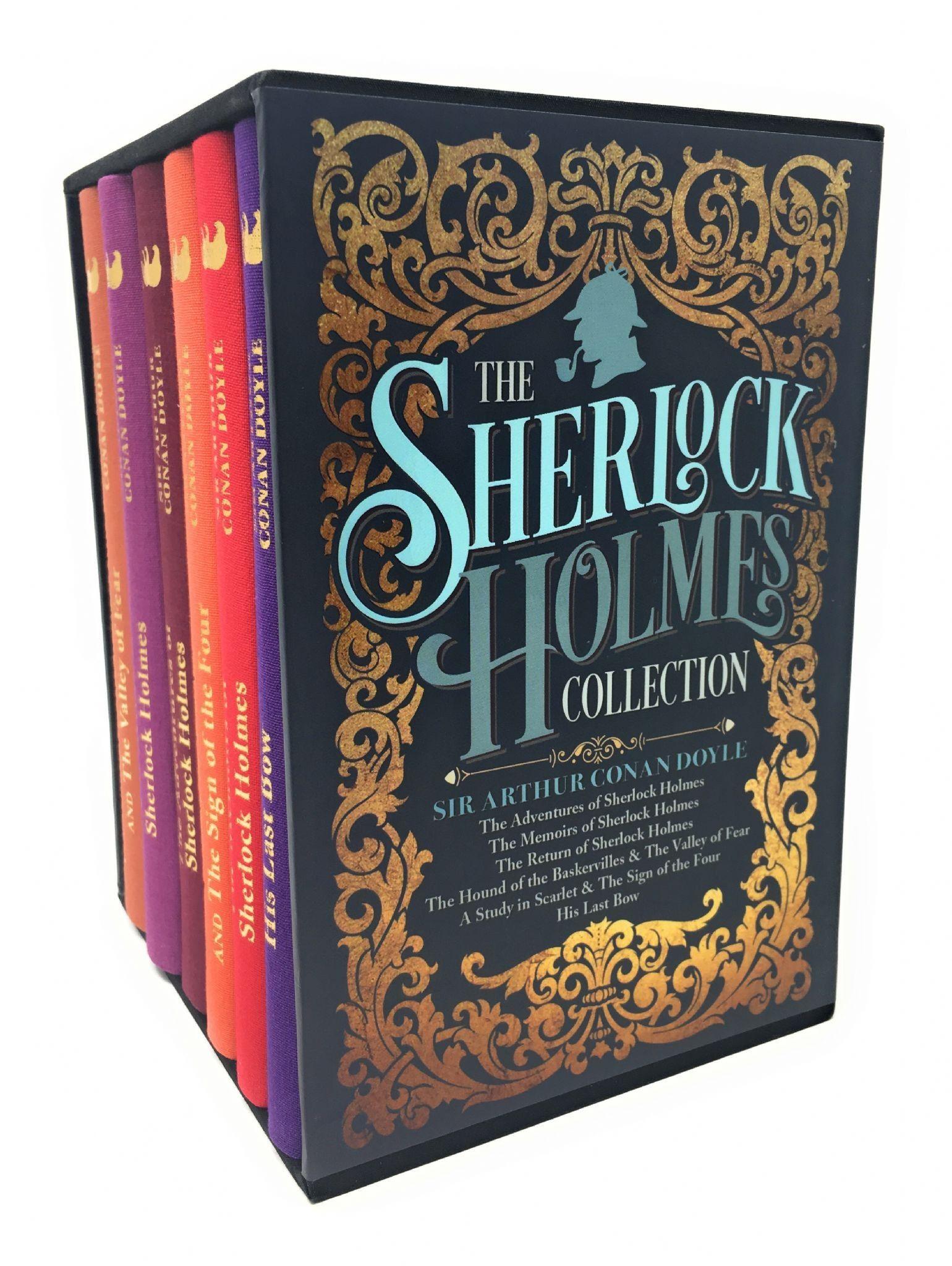 The Sherlock Holmes Collection By Sir Arthur Conan Doyle 6 Books Box Set Sherlock Holmes Book Sir Arthur Conan Doyle Sherlock Holmes