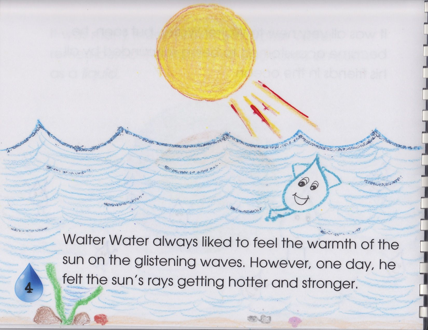 The Life of Walter Water A Water Cycle Story | Kids story
