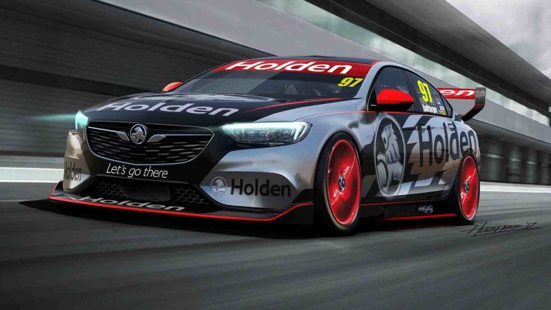 This Holden Commodore V8 Supercar Makes The New Buick Regal Awesome Super Cars Holden Commodore Holden