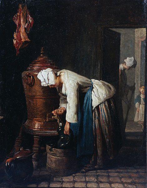 Jean-Siméon Chardin - Woman Drawing Water at the Cistern - Google Art Project (The Toledo Museum of Art)