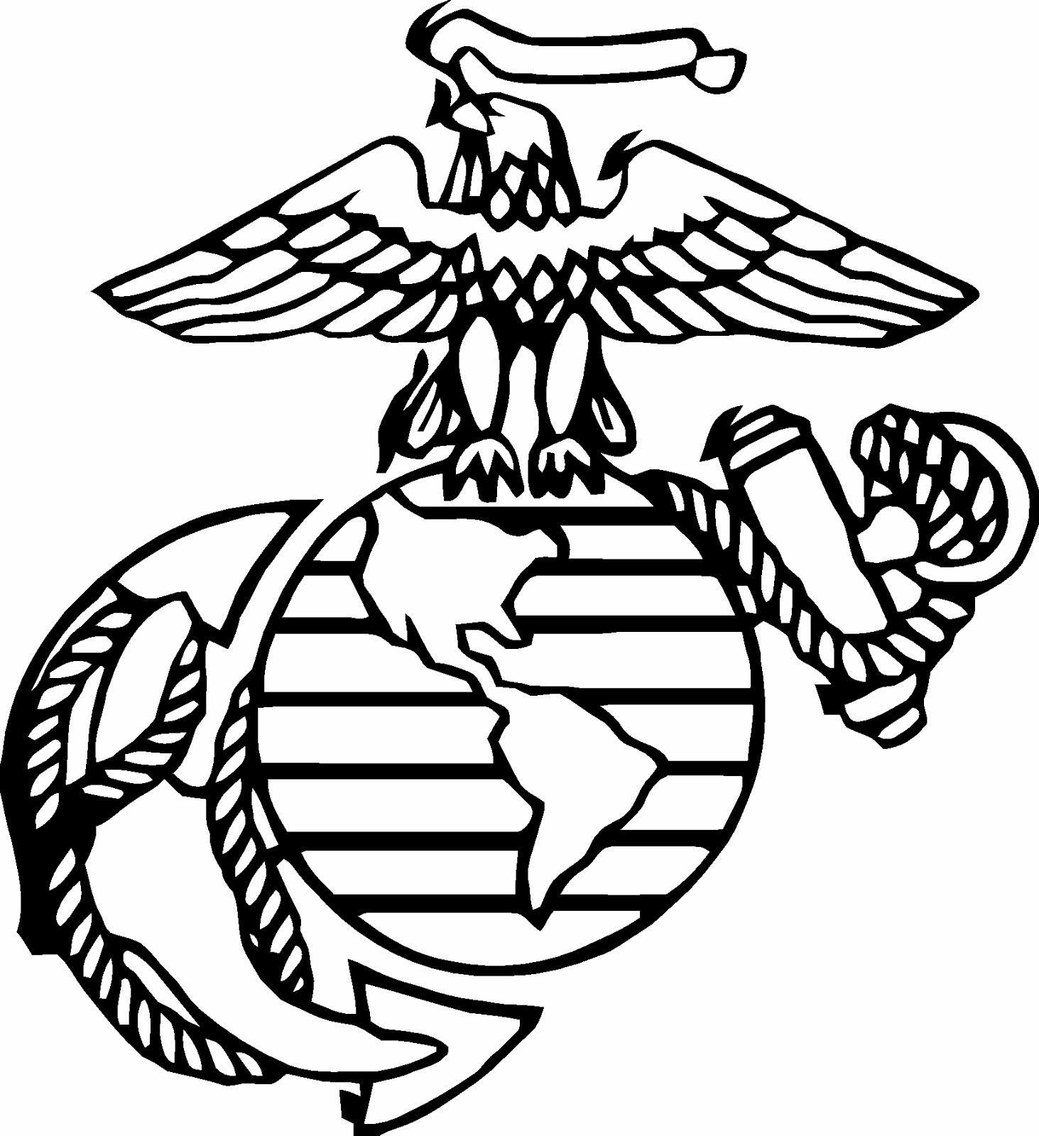 Marine U.S.M.C NAVY Seal Military Insignia Vinyl Decal Sticker