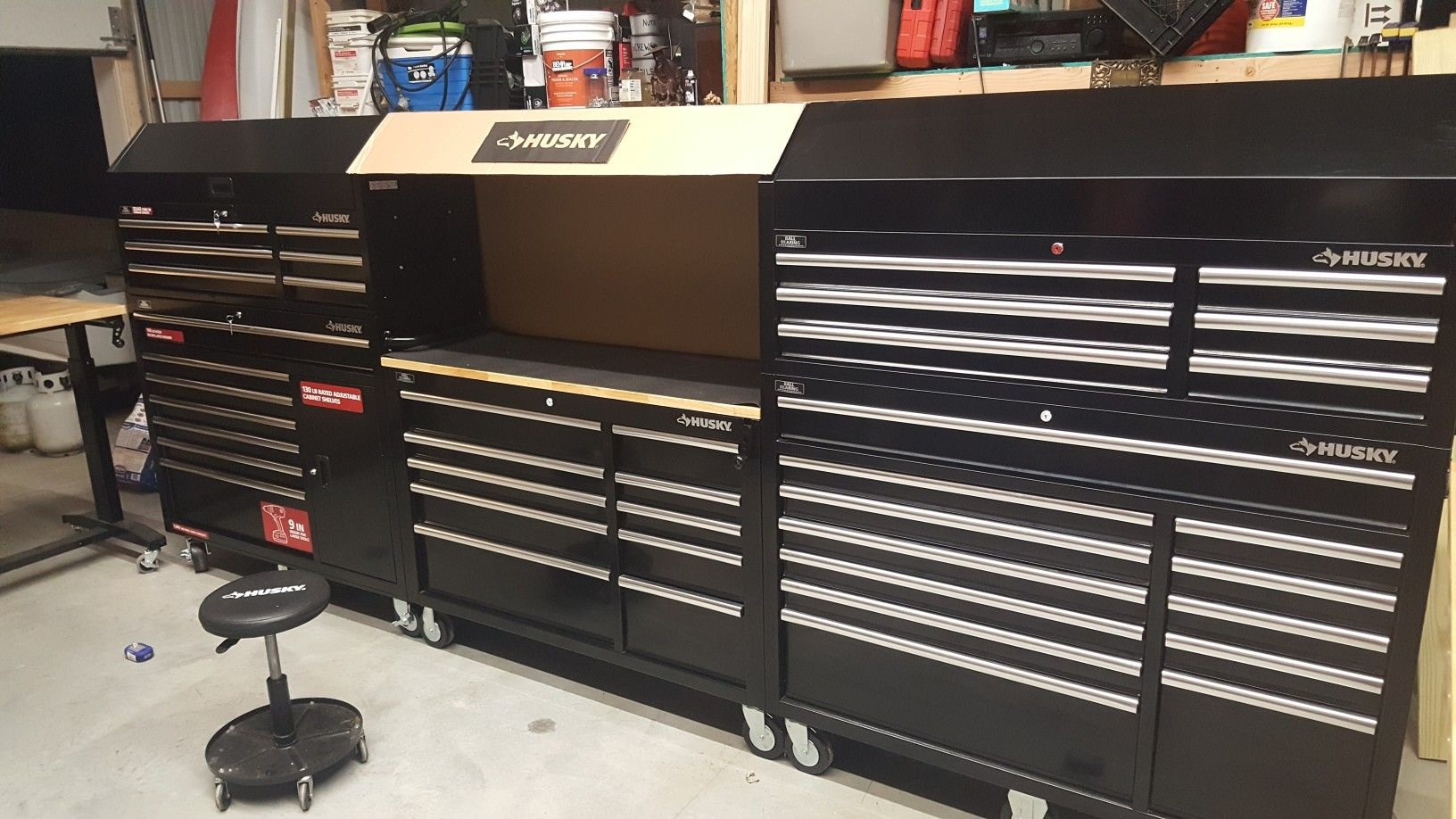 Shop Tool Boxes 156 Inch Husky Toolbox Garage In 2019 Husky Tool Box Tool