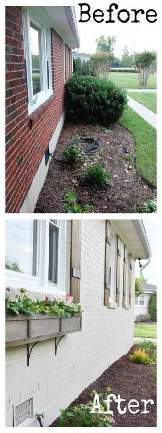New house ideas exterior brick design Ideas