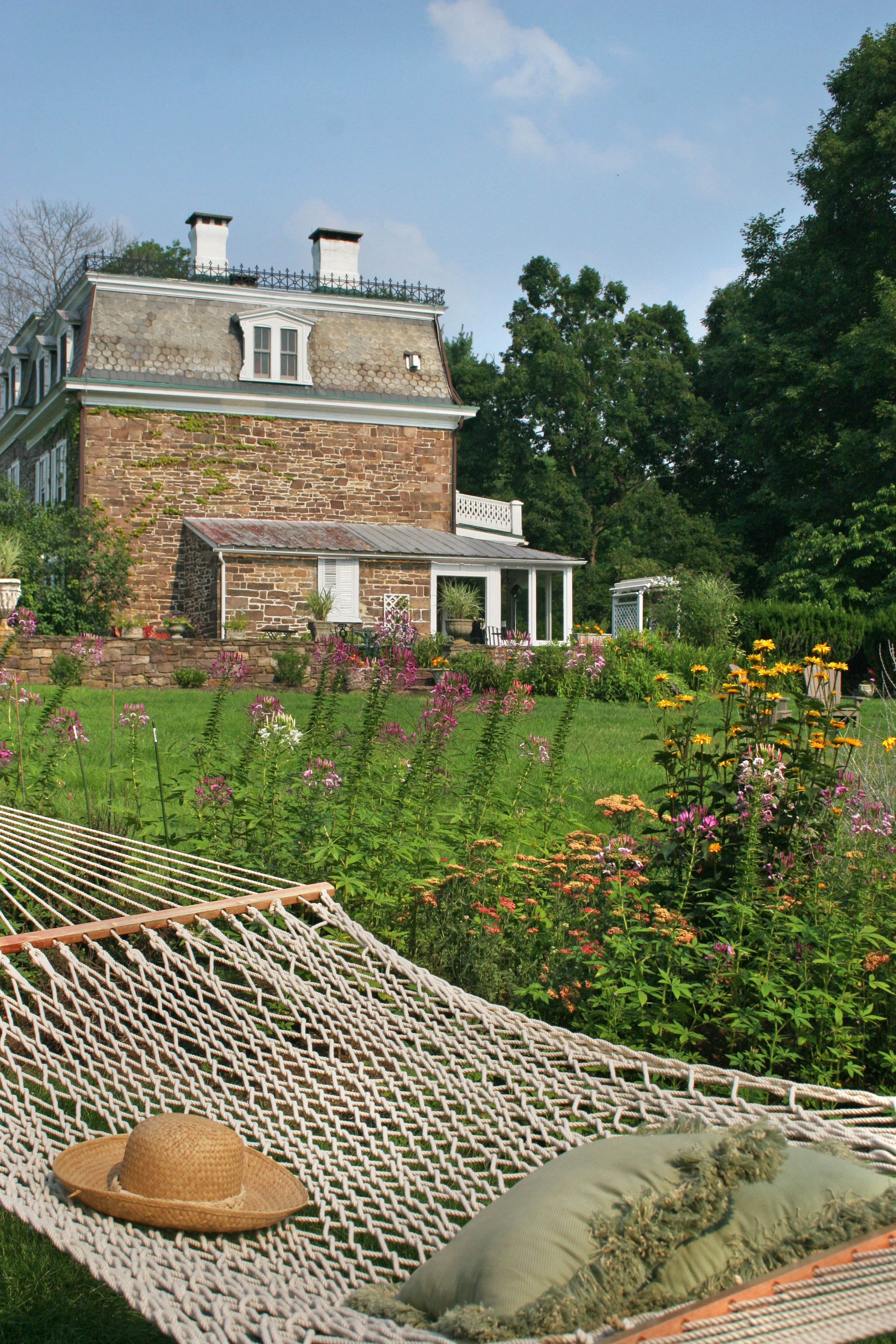 Come enjoy the warm summer at the Woolverton Inn near New
