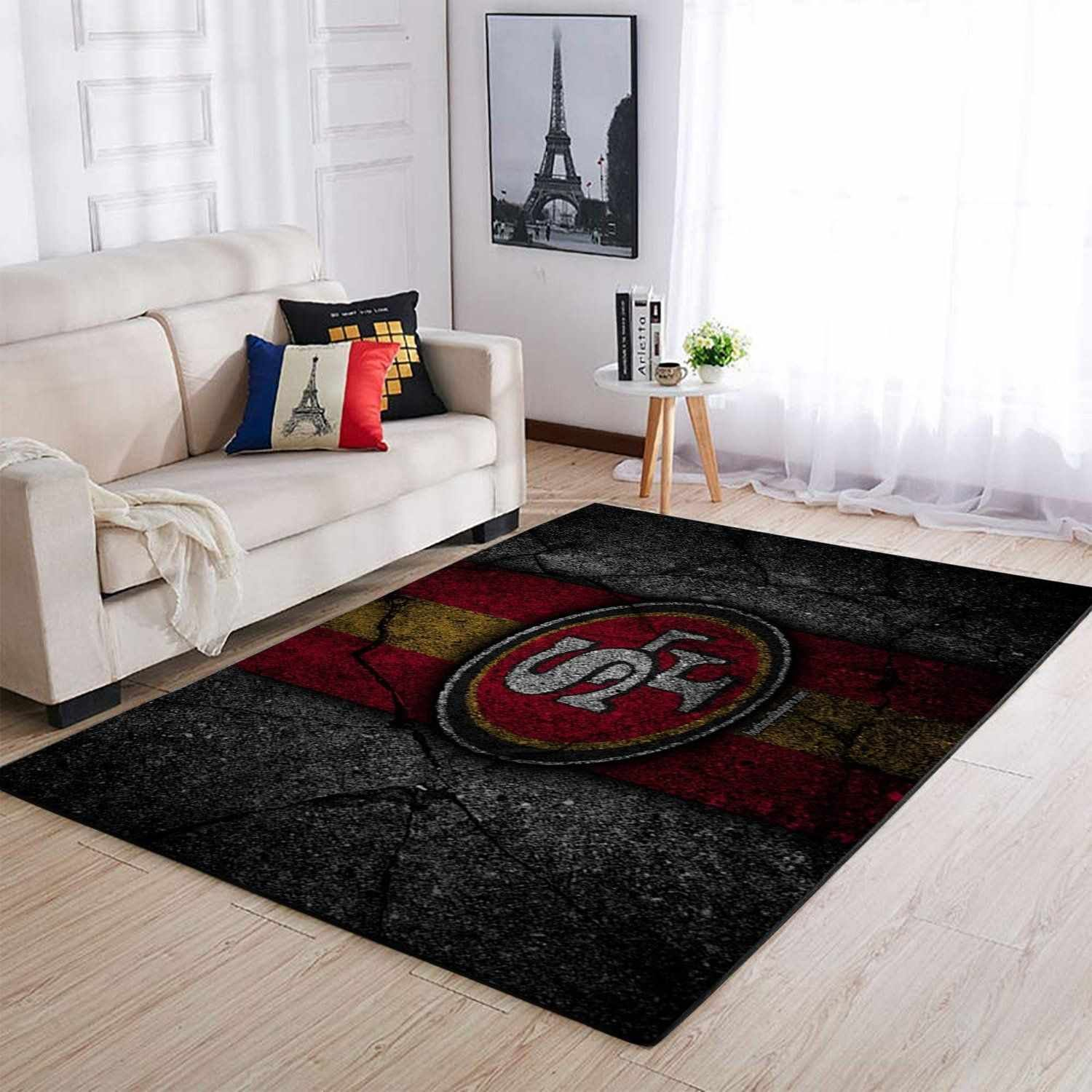 San Francisco 49ers Area Amazon Best Seller Sku 2849 Rug Floor Decor Rugs In Living Room Living Room Carpet