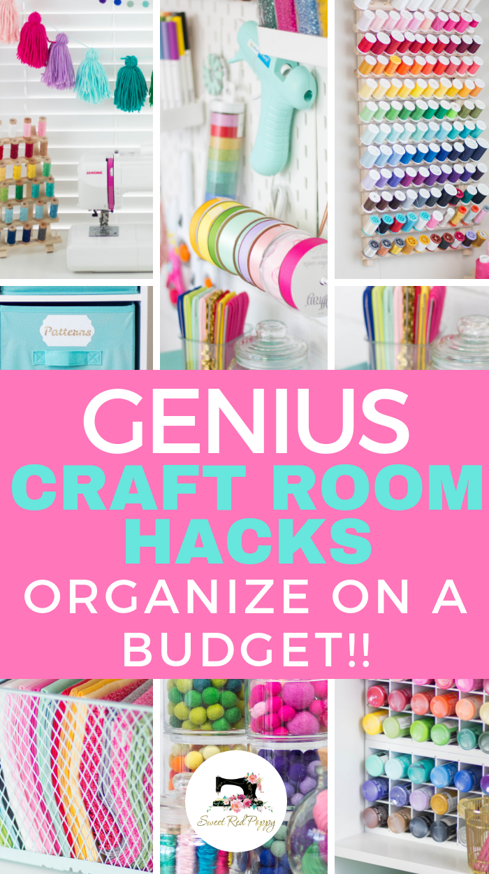 Genius Craft Room Hacks! images