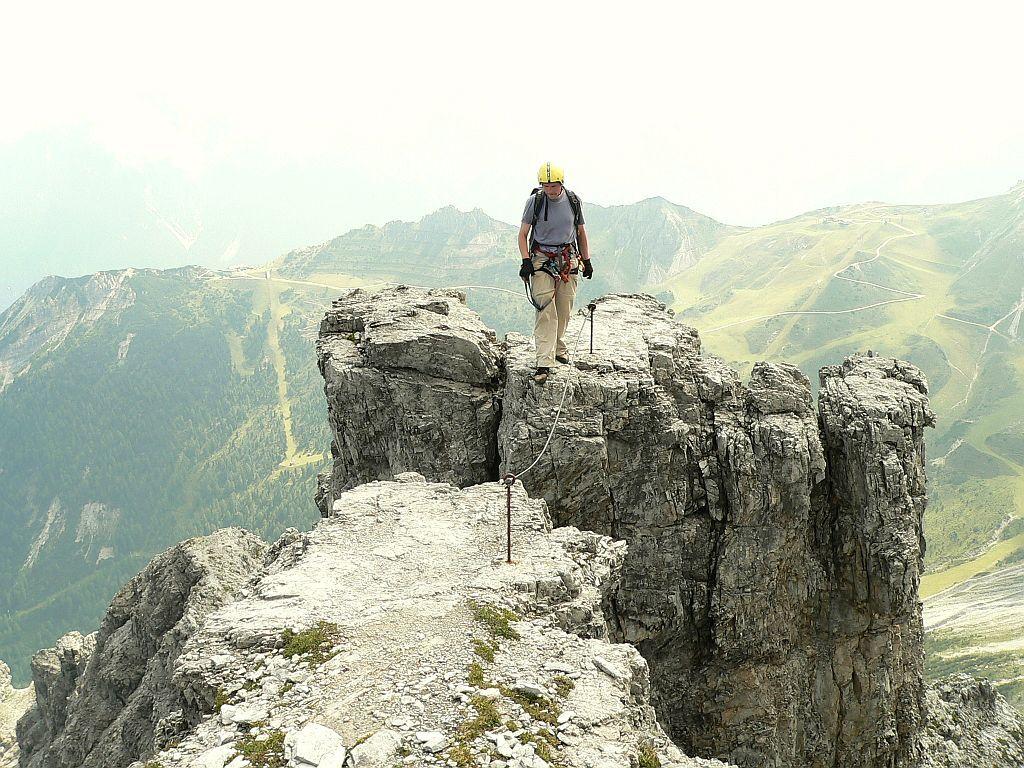 Schlicker Klettersteig - Große Ochsenwand