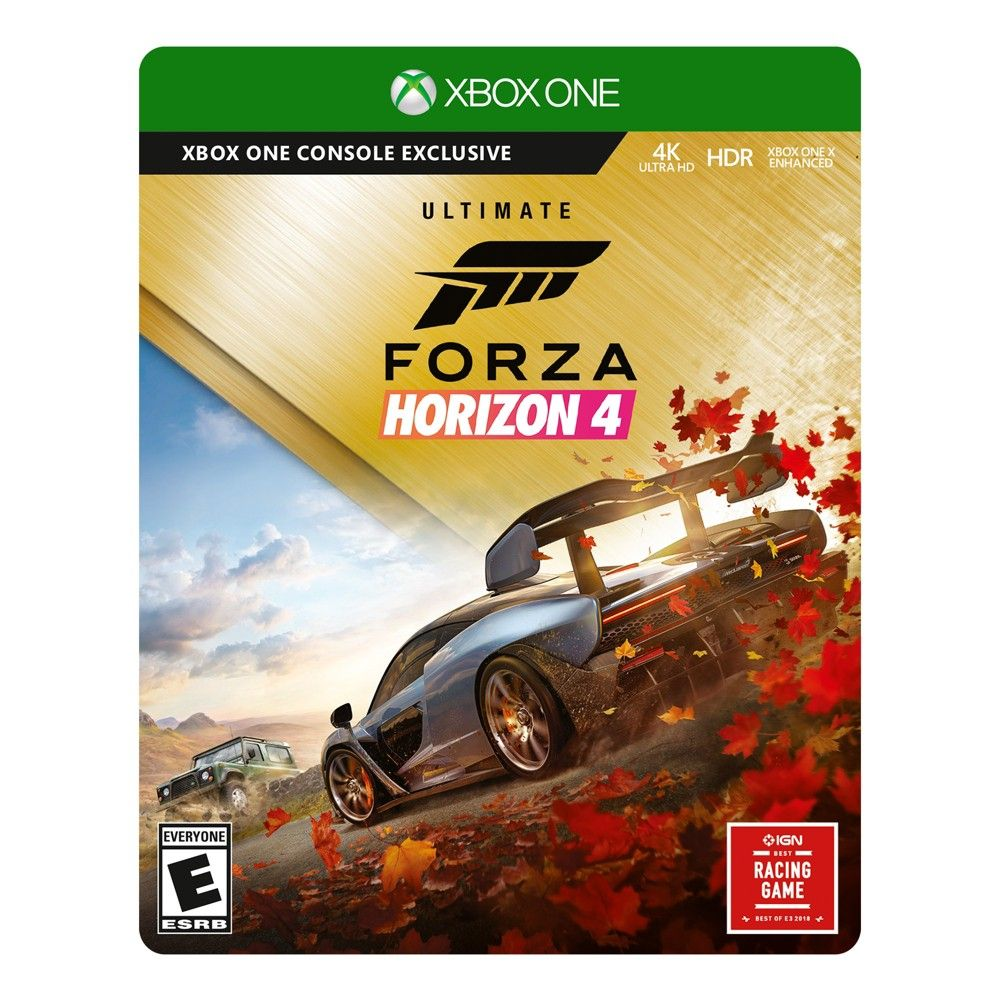 Forza Horizon 4 Ultimate Edition Xbox One Forza Horizon 4