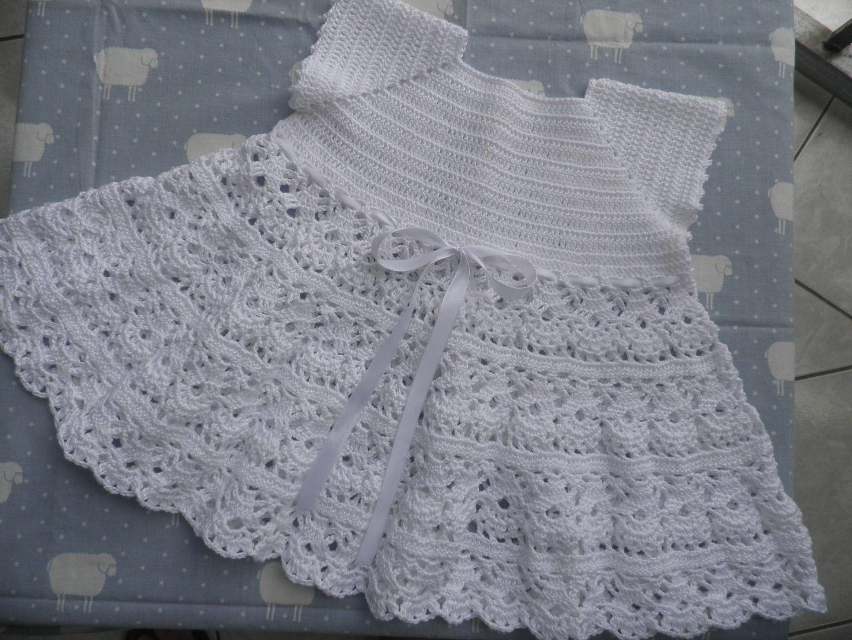 9f0e5a684d7 Robe de baptême au crochet   Mode Bébé par daisy-974