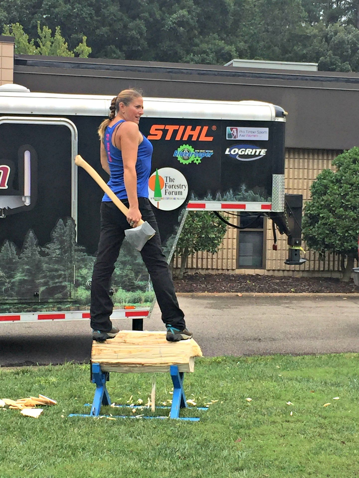 Chainsaws, Power Carving, and Throwing Axes | Stihl Chain Saws and