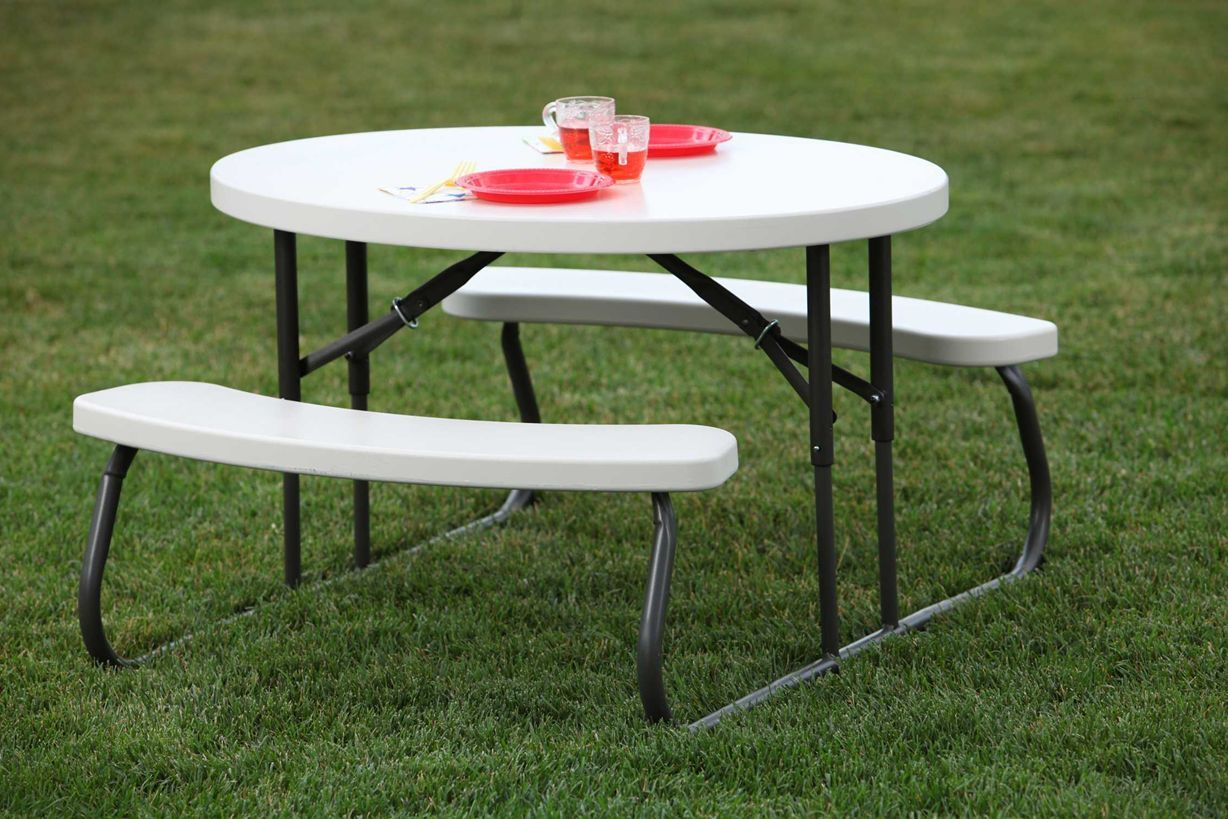 Look Collapsible Pint Sized Picnic Table Folding Picnic Table